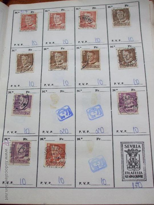Sellos: .dinamarca 3 libretas aproximadamente 677 sellos clasificados, diversas calidades + fotos - Foto 29 - 50674634