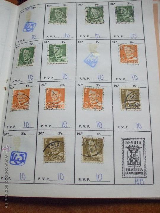 Sellos: .dinamarca 3 libretas aproximadamente 677 sellos clasificados, diversas calidades + fotos - Foto 32 - 50674634