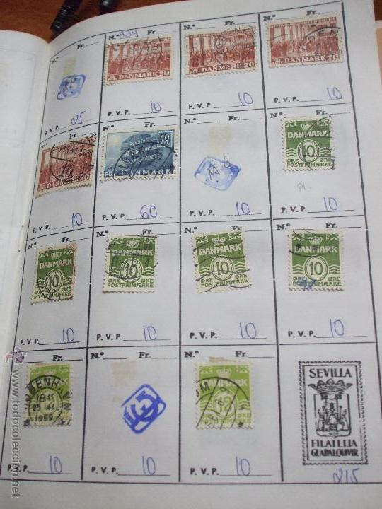 Sellos: .dinamarca 3 libretas aproximadamente 677 sellos clasificados, diversas calidades + fotos - Foto 33 - 50674634