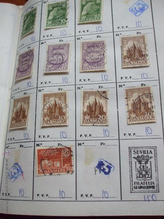 Sellos: .dinamarca 3 libretas aproximadamente 677 sellos clasificados, diversas calidades + fotos - Foto 35 - 50674634