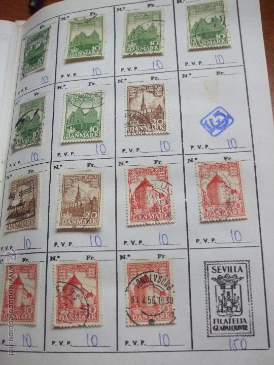 Sellos: .dinamarca 3 libretas aproximadamente 677 sellos clasificados, diversas calidades + fotos - Foto 36 - 50674634