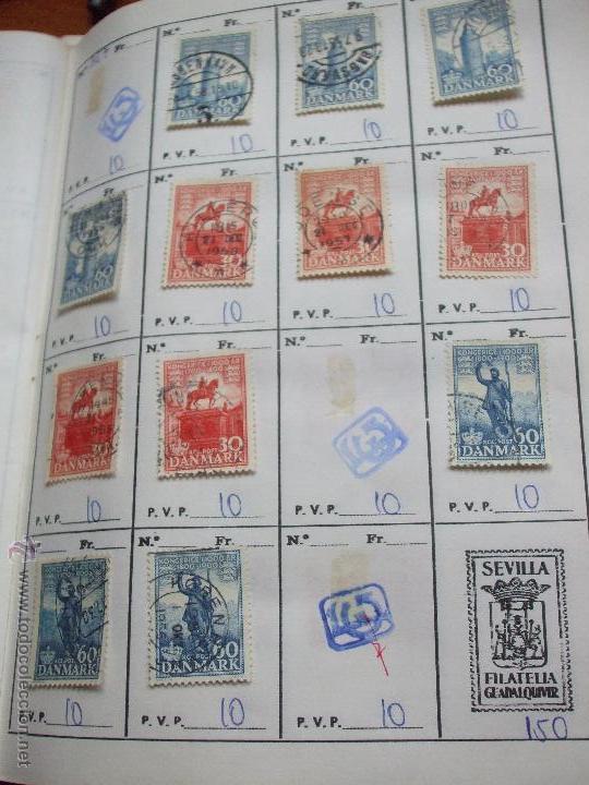 Sellos: .dinamarca 3 libretas aproximadamente 677 sellos clasificados, diversas calidades + fotos - Foto 37 - 50674634