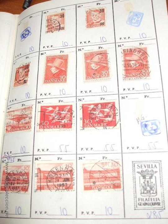 Sellos: .dinamarca 3 libretas aproximadamente 677 sellos clasificados, diversas calidades + fotos - Foto 38 - 50674634