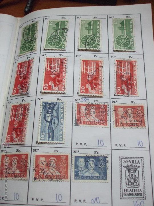 Sellos: .dinamarca 3 libretas aproximadamente 677 sellos clasificados, diversas calidades + fotos - Foto 40 - 50674634