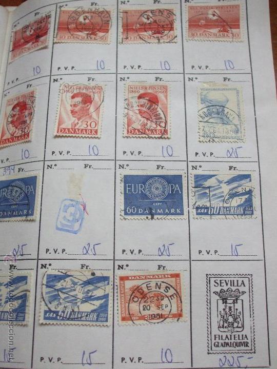 Sellos: .dinamarca 3 libretas aproximadamente 677 sellos clasificados, diversas calidades + fotos - Foto 41 - 50674634