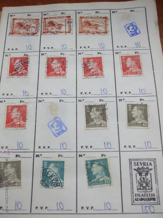 Sellos: .dinamarca 3 libretas aproximadamente 677 sellos clasificados, diversas calidades + fotos - Foto 42 - 50674634