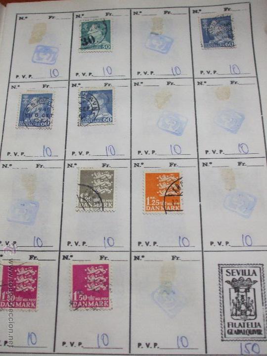 Sellos: .dinamarca 3 libretas aproximadamente 677 sellos clasificados, diversas calidades + fotos - Foto 43 - 50674634