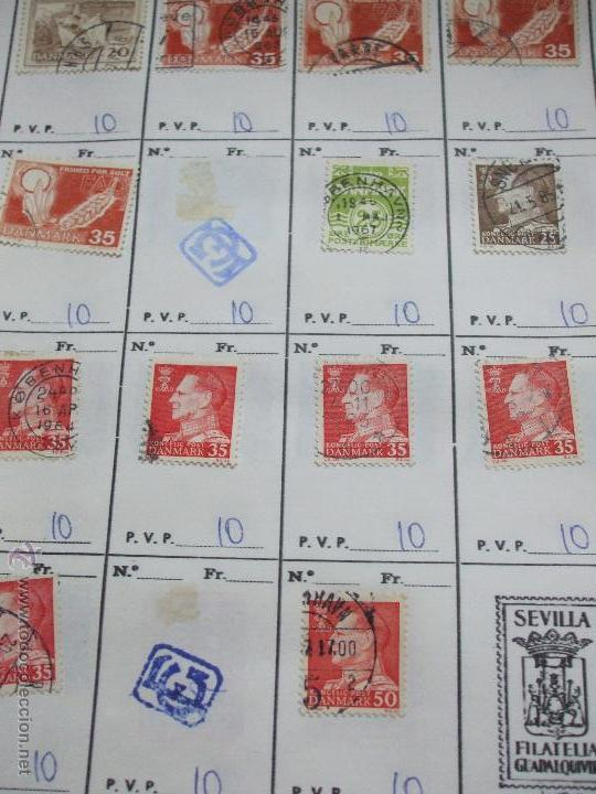 Sellos: .dinamarca 3 libretas aproximadamente 677 sellos clasificados, diversas calidades + fotos - Foto 45 - 50674634