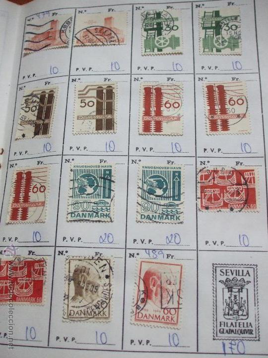 Sellos: .dinamarca 3 libretas aproximadamente 677 sellos clasificados, diversas calidades + fotos - Foto 52 - 50674634