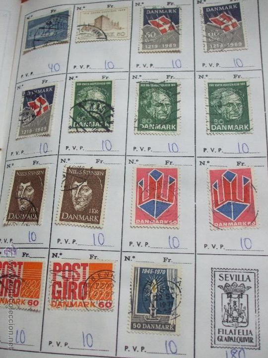 Sellos: .dinamarca 3 libretas aproximadamente 677 sellos clasificados, diversas calidades + fotos - Foto 53 - 50674634