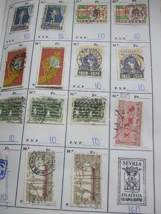 Sellos: .dinamarca 3 libretas aproximadamente 677 sellos clasificados, diversas calidades + fotos - Foto 54 - 50674634