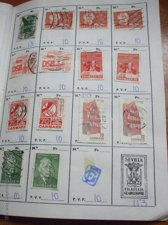 Sellos: .dinamarca 3 libretas aproximadamente 677 sellos clasificados, diversas calidades + fotos - Foto 56 - 50674634