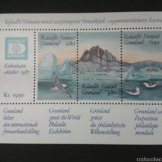Briefmarken - SELLOS DE GROENLANDIA (DINAMARCA) YVERT HB-1. SERIE COMPLETA NUEVA SIN CHARNELA. - 53111475