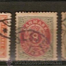 Briefmarken - Dinamarca & 1875-1903 (24) - 53468527