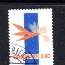 Sellos: DINAMARCA 892 - AÑO 1987 - ARTE MODERNO - OBRA DE LIN UTZON. Lote 57944015