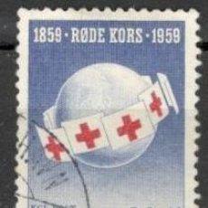 Sellos: DINAMARCA. CRUZ ROJA. 1959. USADOS.. Lote 70349330