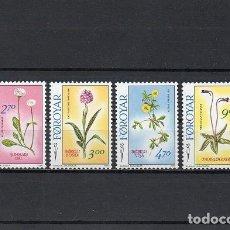 Timbres: FEROE 1988, YVERT 156-59, MNH-SC. Lote 72130103