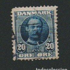 Sellos: DINAMARCA.1907-12.- 20 ORE.YVERT 57.USADO.. Lote 77256297