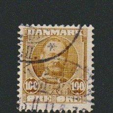 Sellos: DINAMARCA.1907-12.- 100 ORE.YVERT 61.USADO.. Lote 77256389