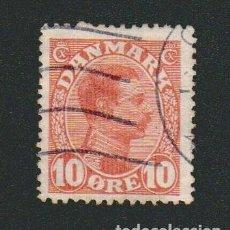 Sellos: DINAMARCA.1913-19.- 10 ORE.YVERT 74.USADO.. Lote 77256605