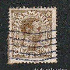 Sellos: DINAMARCA.1921-30.- 20 ORE.YVERT 137.USADO.. Lote 77257781
