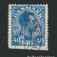 Sellos: DINAMARCA.1921-30.- 40 ORE.YVERT 143.USADO.. Lote 77257965