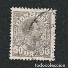 Sellos: DINAMARCA.1921-30.- 50 ORE.YVERT 145.USADO.. Lote 77258153