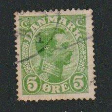 Sellos: DINAMARCA.1913-19.- 5 ORE.YVERT 73.USADO.. Lote 77258213