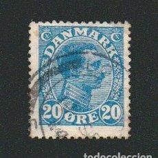 Sellos: DINAMARCA.1913-19.- 20 ORE.YVERT 77.USADO.. Lote 77258289