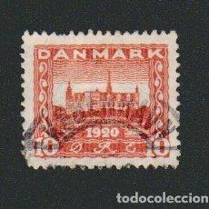 Sellos: DINAMARCA.1920-21.- 10 ORE.YVERT 122.USADO.. Lote 77258489
