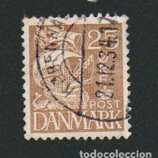 Sellos: DINAMARCA.1933-37.- 25 ORE.YVERT 217.USADO.. Lote 77259337