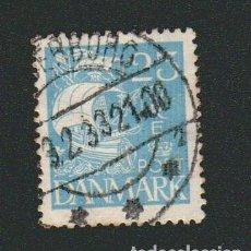 Sellos: DINAMARCA.1927-30.- 25 ORE.YVERT 183.USADO.. Lote 77259393
