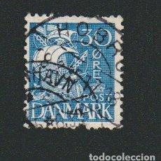 Sellos: DINAMARCA.1933-37.- 30 ORE.YVERT 219.USADO.. Lote 77259549