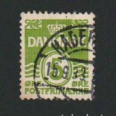 Sellos: DINAMARCA.1933-37.- 5 ORE.YVERT 210.USADO.. Lote 77260021