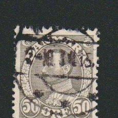 Sellos: DINAMARCA.1933-37.- 50 ORE.YVERT 222.USADO.. Lote 77260505