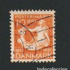 Francobolli: DINAMARCA.1935.- 10 ORE.YVERT 231.USADO.. Lote 77260933
