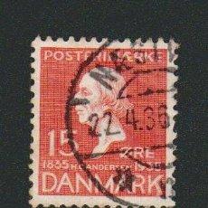 Sellos: DINAMARCA.1935.- 15 ORE.YVERT 232.USADO.. Lote 77261129