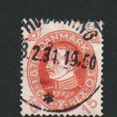 Sellos: DINAMARCA.1930.- 15 ORE.YVERT 201.USADO.. Lote 77261577