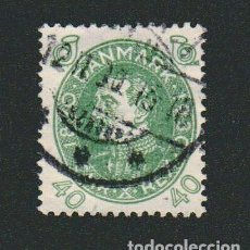 Sellos: DINAMARCA.1930.- 40 ORE.YVERT 206.USADO.. Lote 77261681
