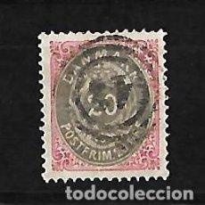 Sellos: DINAMARCA 1875-1903. Lote 79053085