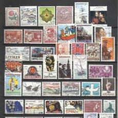 Briefmarken - Q5091-LOTE SELLOS DINAMARCA SIN TASAR DIFERENTES SIN TASAR,CON 1 O 2 AMORTIZA.CON 1 O 2 SELLOS YA T - 100523359