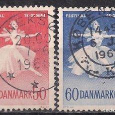 Sellos: DINAMARCA 1963 - USADO. Lote 102441547