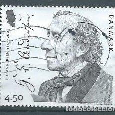 Sellos: DINAMARCA,2005,HANS CHRISTIAN ANDERSEN,YVERT 1399,USADO. Lote 105234571