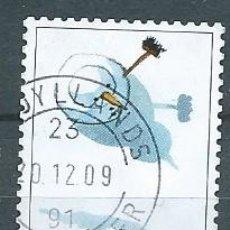 Timbres: DINAMARCA,2009,JUEGOS DE INVIERNO,YVERT 1546,USADO. Lote 181831750