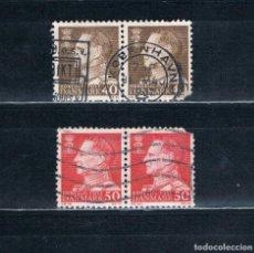 Briefmarken - SELLOS DOBLES DINAMARCA MATASELLADOS - 115744947