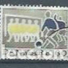 Timbres: DINAMARCA,1971,FÚTBOL,USADO,YVERT 527. Lote 116886690