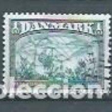 Sellos: DINAMARCA,1981,AVIACIÓN,USADO,YVERT 742. Lote 118773916