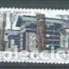 Sellos: DINAMARCA,2002,ARQUITECTURA,USADO,YVERT 1324. Lote 118774115