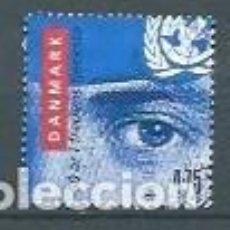 Sellos: DINAMARCA,2007,SOLDADOS DANESES EN LA ONU,USADO,YVERT 1462. Lote 118774119