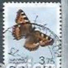Sellos: DINAMARCA,1993,MARIPOSA,YVERT 1051. Lote 118774292